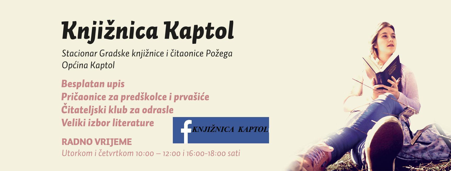 LokalnaHrvatska.hr Kaptol Knjiznica u Kaptolu privremeno je nedostupna